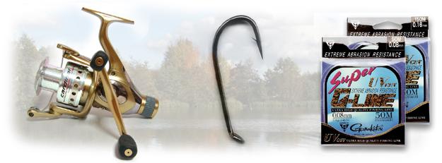 Au Moulinet de pêche - Fishing reels - Angel-Rollen