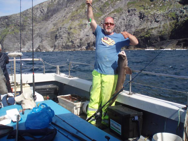 Fotogalerie -Angeln - La peche en haute mer (boat-angling) dans le sud-ouest du Kerry, Irlande