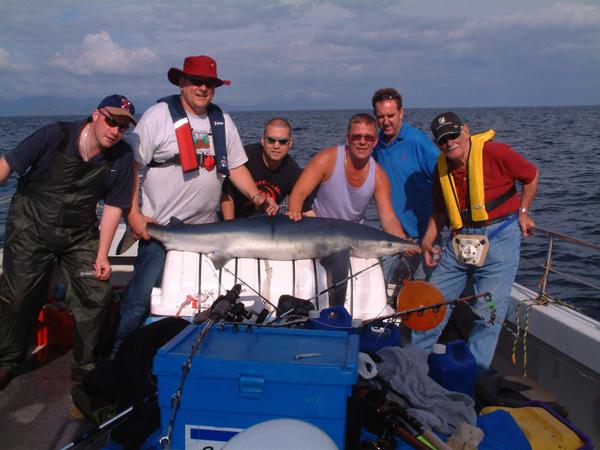 Fotoalbum Angeln & Fotogalerie - La peche en haute mer (boat-angling) dans le sud-ouest du Kerry, Irlande