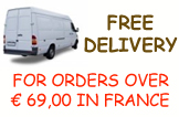 Free Delivery - for orders over 69 Euros in France